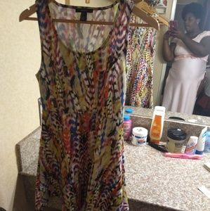 Forever 21 Multi Dress Size Small